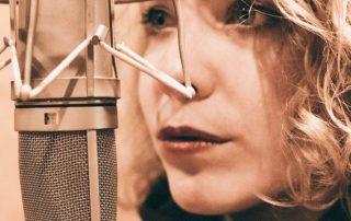 Sängerin mit toller Stimme