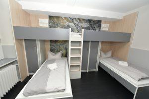 Jugendherberge Mayen Zimmer Betten Mehrbettzimmer