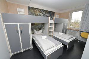 Jugendherberge Mayen Mehrbettzimmer Betten