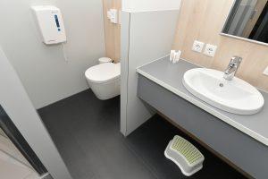 Jugenherberge Mayen Zimmer Bad Toilette