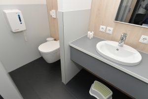 Jugendherberge Mayen Zimmer Bad Badezimmer Toilette