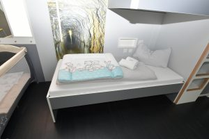 Jugendherberge Mayen Kinderbett Wickelunterlage