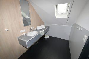 Jugendherberge Mayen Zimmer Bad Waschtisch