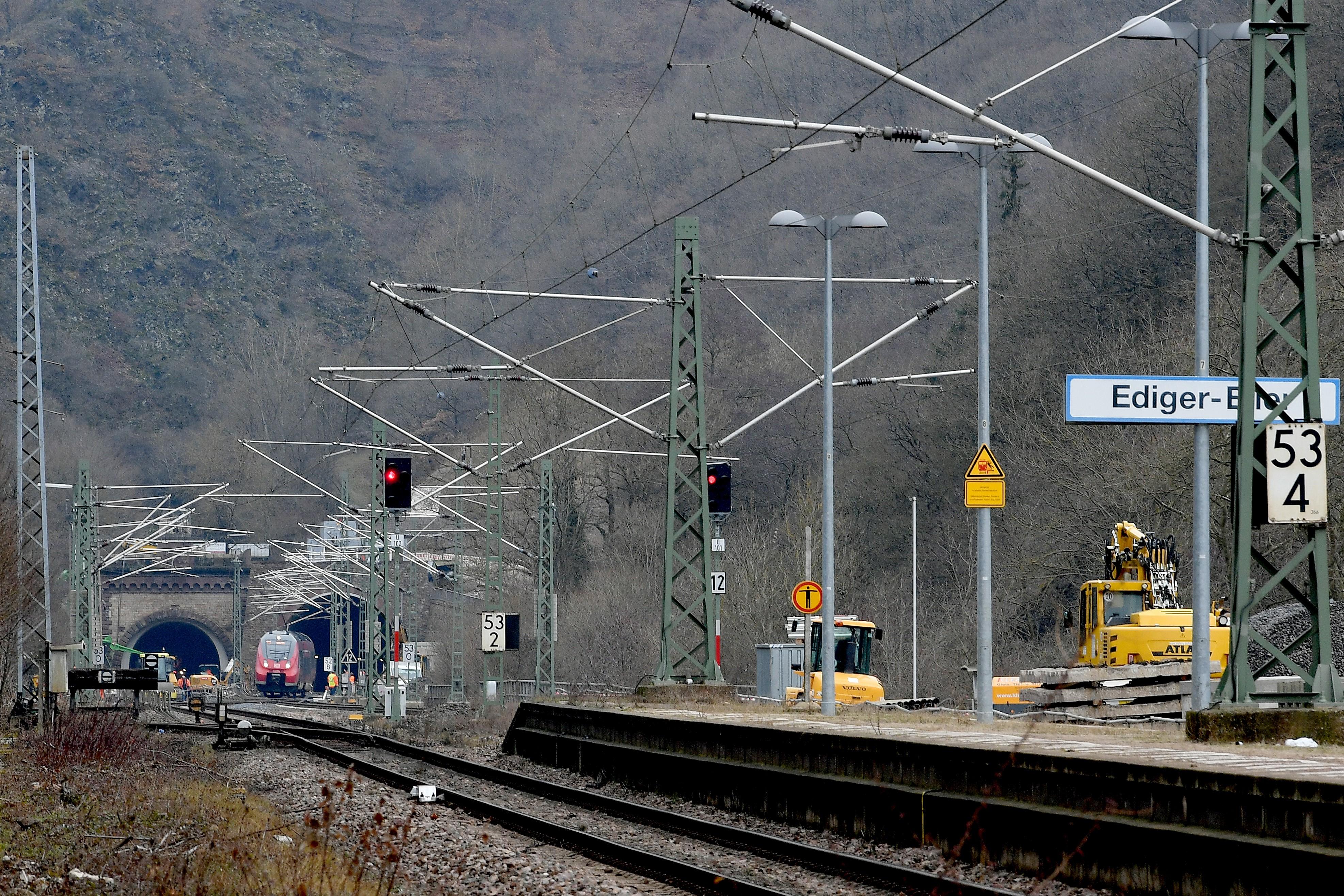 Kaiser-Wilhelm-Tunnel Eisenbahn Bahnstrecke