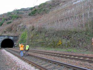 Petersbergtunnel, Bahngleise