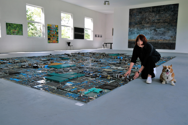 Kunsthalle Mittelstrimmig Lilli Engel