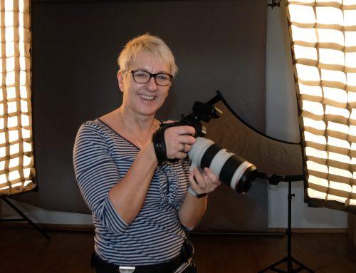 Fotosession im Kreissaal: Karina Schuh aus Polch hat die Familie im Suchfeld ihrer Kamera