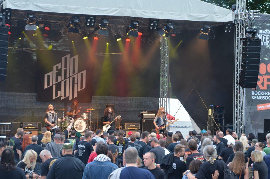 Impression aus dem vergangenen Jahr beim Festíval der Rockfreunde Rengsdorf