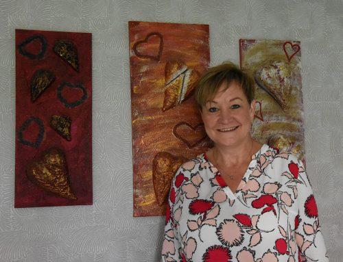 Simone Osteroth hat ihre Tränen der Trauer in Tränen der Freude verwandelt