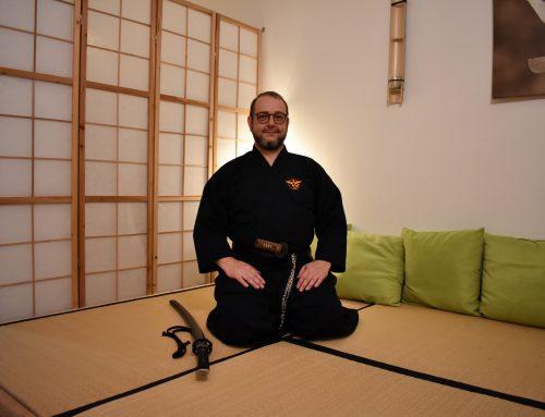 Mario Klersy stärkt mit Mugai Ryu Iaido seinen Geist und hat die Essenz des Schwertes in Japan gefunden