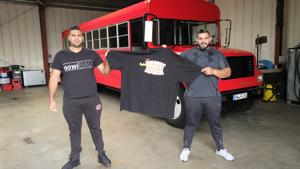 Ali Tuncer und sein Freund Mohammed Abdallah